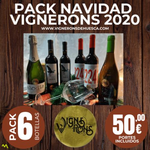 Pack Vignerons Navidad 2020