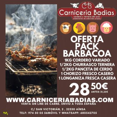 Oferta Pack Barbacoa