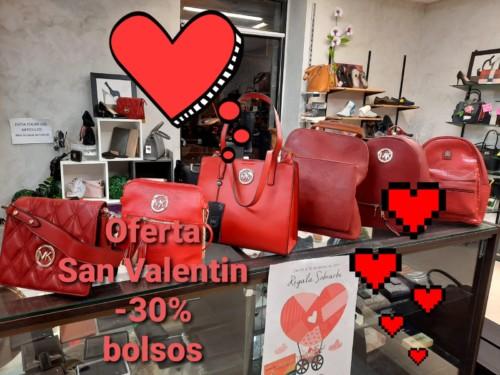 ESPECIAL SAN VALENTÍN - 30% EN BOLSOS