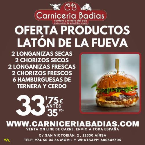 Oferta Pack de Productos de Latón de La Fueva